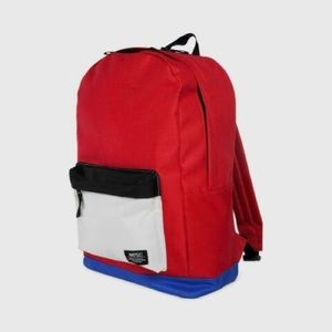 NWOTs WESC • Chaz Red White Blue Blackpack